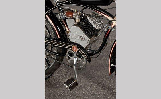 837: 1947 Whizzer Motorbike - 8