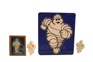 2015: MICHELIN ITEMS  Group lot of Michelin items inclu
