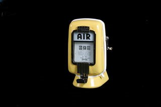 3002: AIR METER  Restored Eco Air Meter with wall-mount