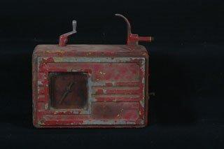 3004: AIR METER  Vintage air meter in weathered origina