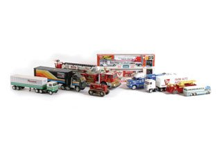 3022: ASSORTED TOY TRUCKS  This lot of toys includes ap