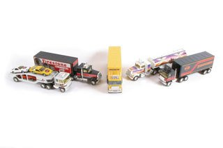 3023: NY-LINT TOY TRUCKS  Large lot of approximately th