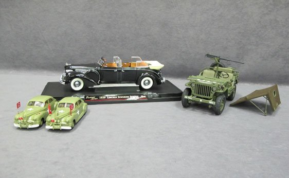 008N: Four (4) Assorted Scale Model Cars