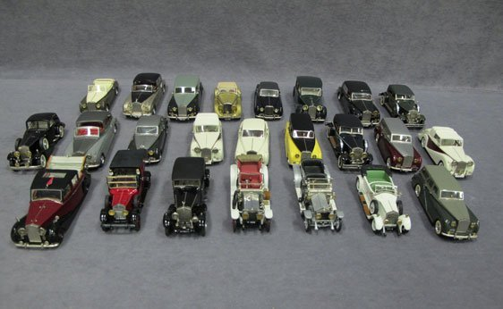 010N: Twenty-Four (24) 1/43 Scale Assorted Top Marques