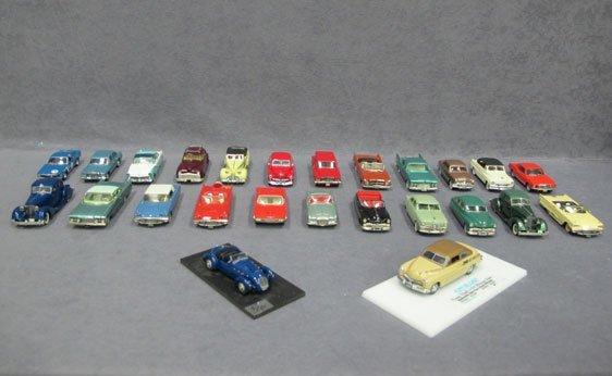 011N: Twenty-Five (25) Assorted Model Vehicles