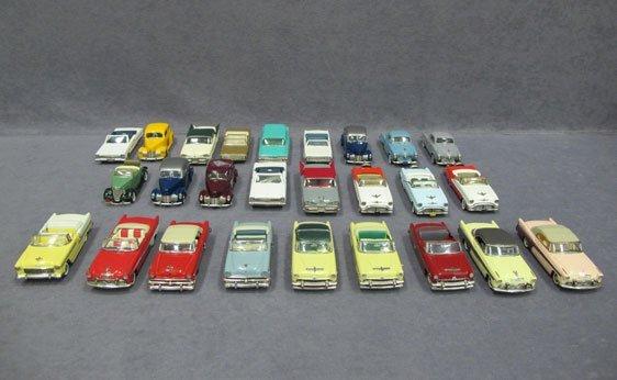 014N: Twenty-Six (26) 1/43 Scale Assorted Model Cars -