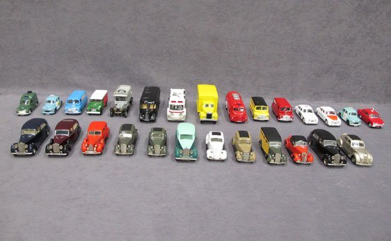 019N: Twenty-Seven (27) 1/43 Scale Assorted Model Cars