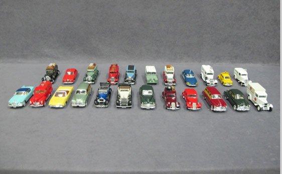023N: Twenty-Three (23) 1/43 Scale Assorted Model Cars