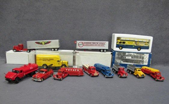 311N: Twelve (12) Assorted Truck Models