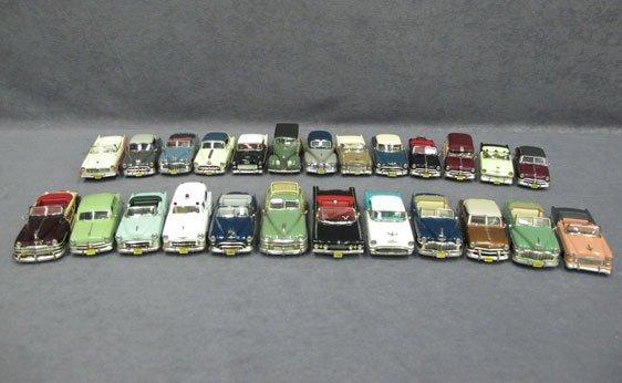 320N: Twenty-Five (25) 1/43 Scale Assorted USA Model Ca