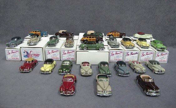 321N: Twenty-Six (26) 1/43 Scale Assorted Victory Model