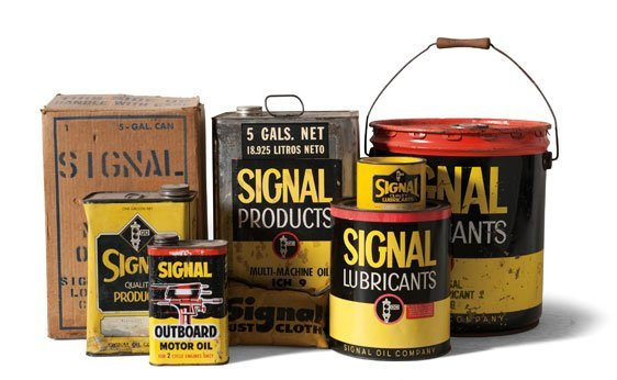 Signal Motor Oil Canisters