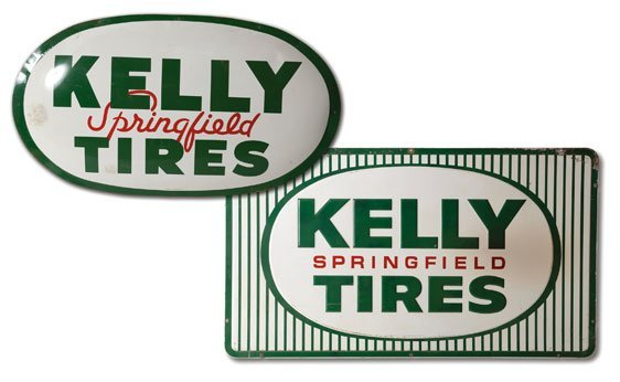 Two Kelly Springfield Signs