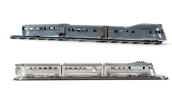 Two Model Trains
