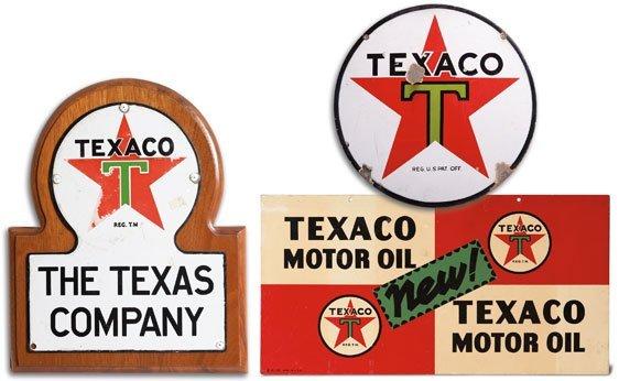 Three Texaco Signs