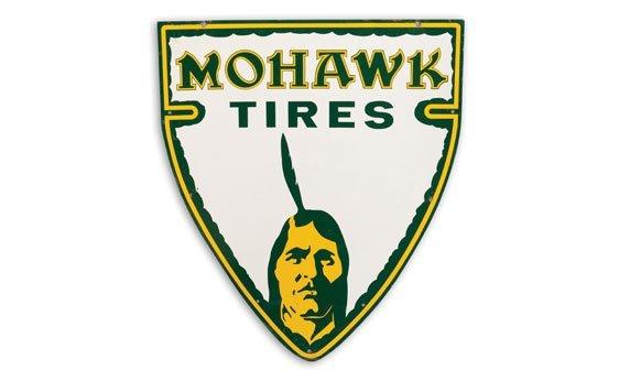 Three Mohawk Tires Signs - 2