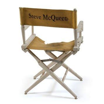 0105- Steve McQueen Director's Chair
