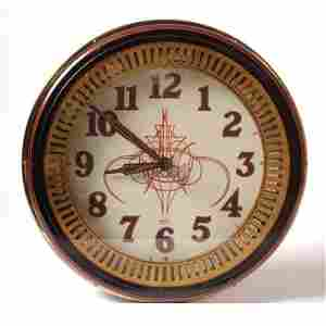 0131-Von Dutch - Von Dutch Illuminated Clock