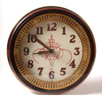 -Von Dutch - Von Dutch Illuminated Clock