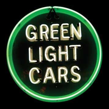 1203: 1203-Edsel Green Light Cars Neon