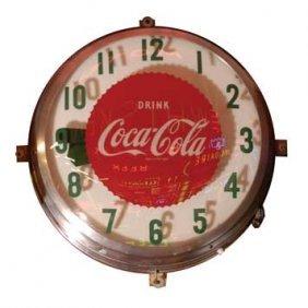 2051-Coca-Cola Clock
