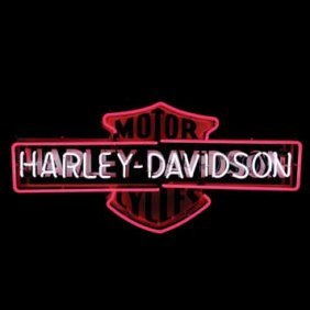 2060-Harley-Davidson Neon