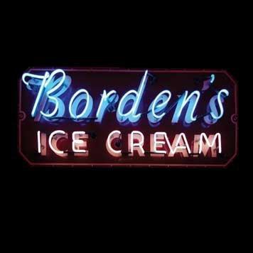 2061: 2061-Borden's Ice Cream Neon