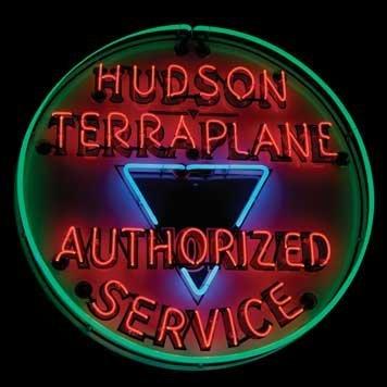 2066: 2066-Hudson Terraplane Authorized Service Neon