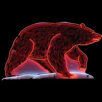 2071: 2071-Grizzly Bear Neon