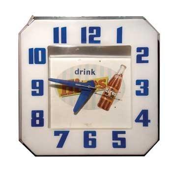 2072: 2072-Hires Root Beer Neon Clock