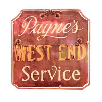 2073: 2073-Payne's West End Service Neon - 2