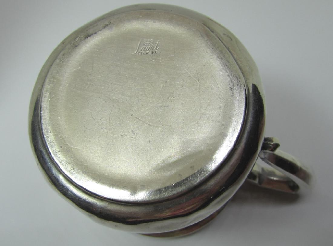 SAART STERLING SILVER BABY CUP MUG 43.5 GRAMS - 3