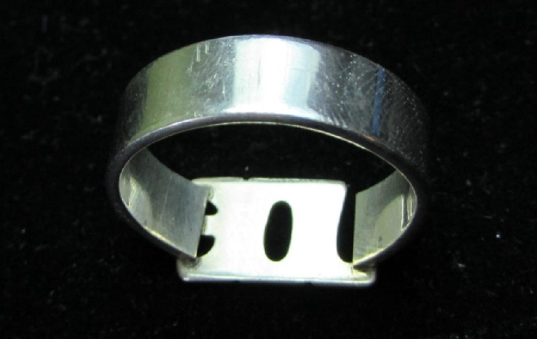 JOE RING STERLING SILVER 1981 LEONORE DOSKOW - 2