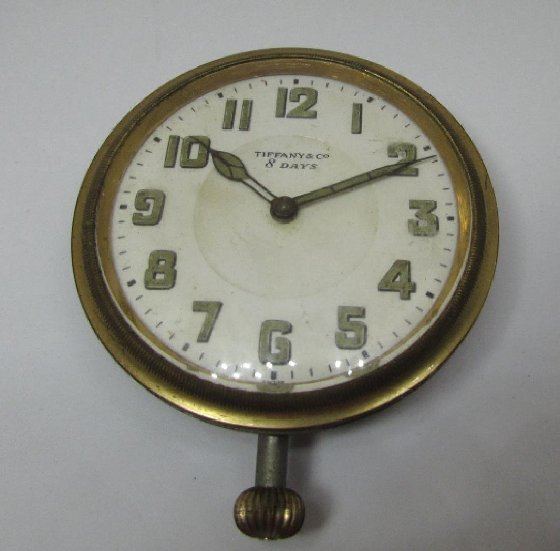 TIFFANY & CO CAR CLOCK POCKET WATCH