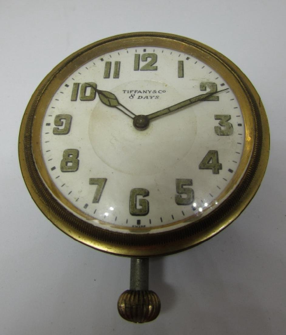 TIFFANY & CO CAR CLOCK POCKET WATCH - 6