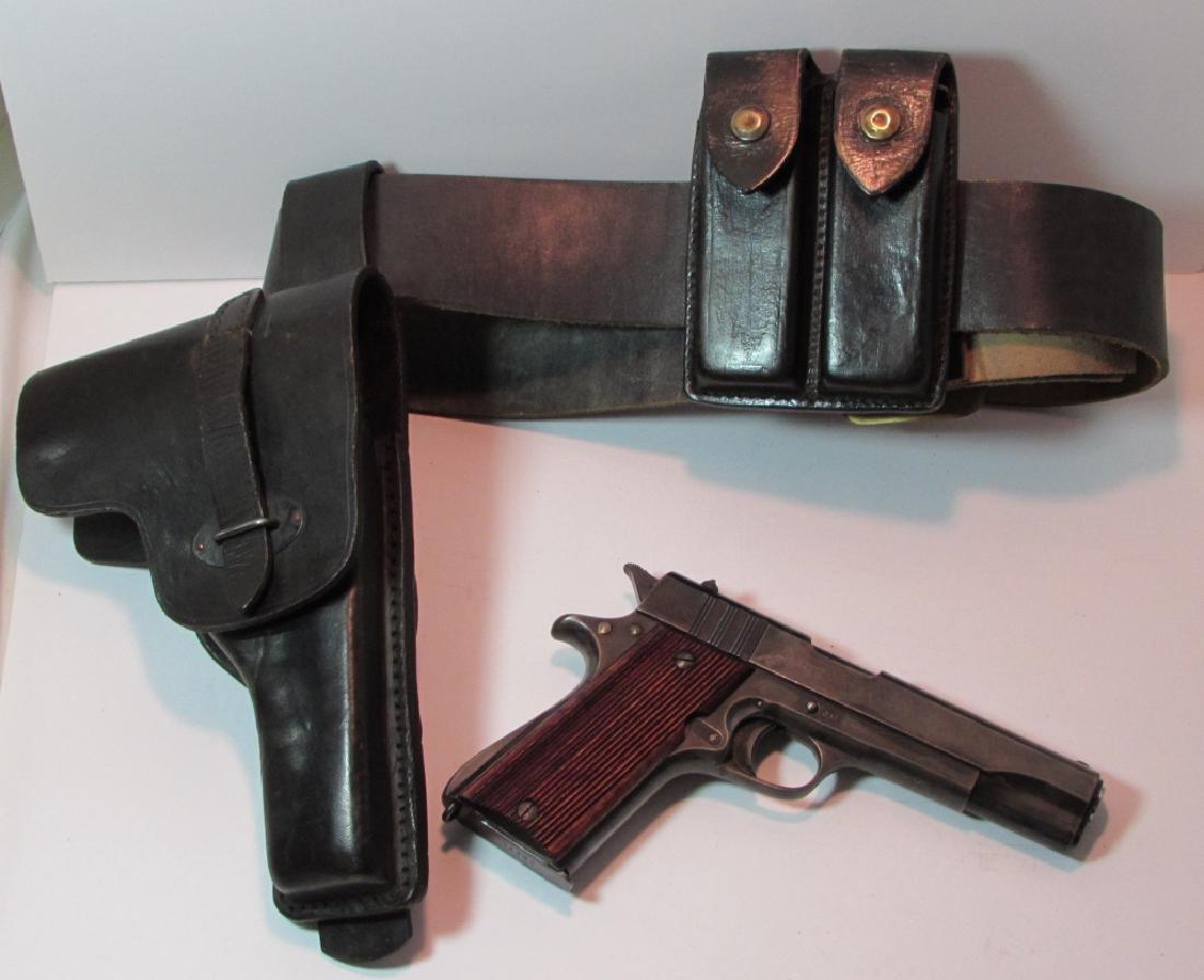 ARGENTINE COLT 11.25mm 1911 GENDARMERIA PISTOL
