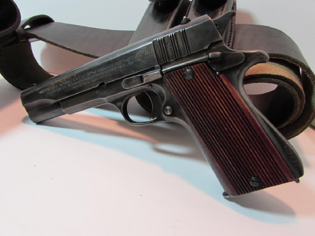 ARGENTINE COLT 11.25mm 1911 GENDARMERIA PISTOL - 3