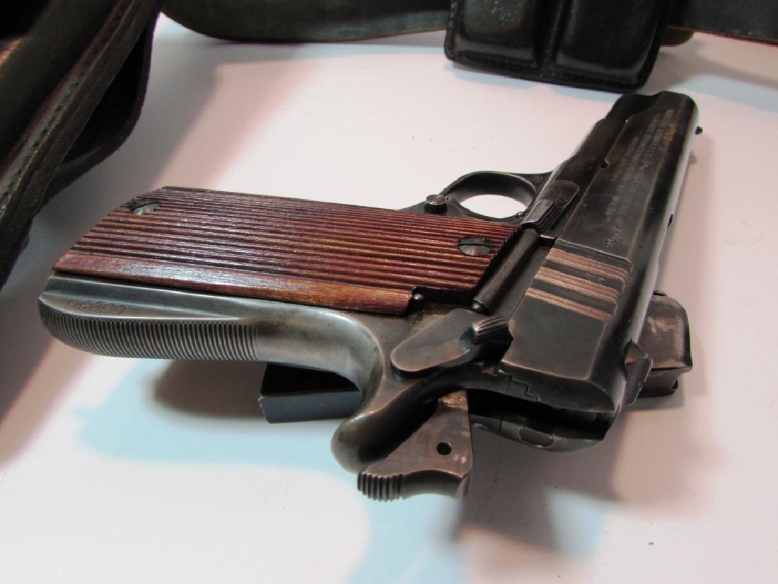 ARGENTINE COLT 11.25mm 1911 GENDARMERIA PISTOL - 7