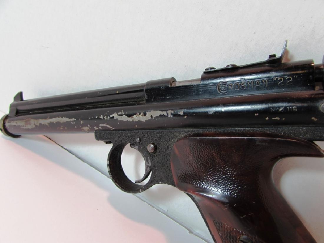 CROSMAN ARMS 22 BB GUN PISTOL 116 - 4