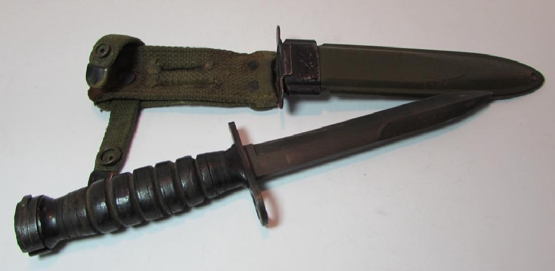 US M8 M4 BM CO BAYONET COMBAT KNIFE WW2 M1 CARBINE