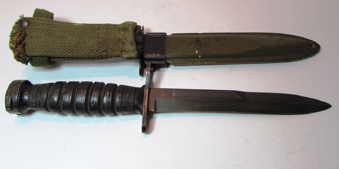 US M8 M4 BM CO BAYONET COMBAT KNIFE WW2 M1 CARBINE - 3