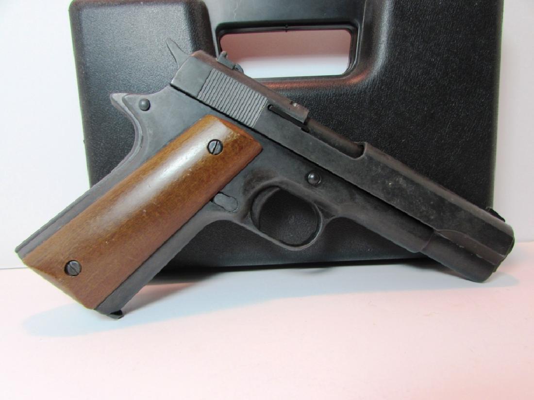 BRUNI 96 BLANK GUN 8mm KNALL 1911 STYLE AMMO CASE - 3