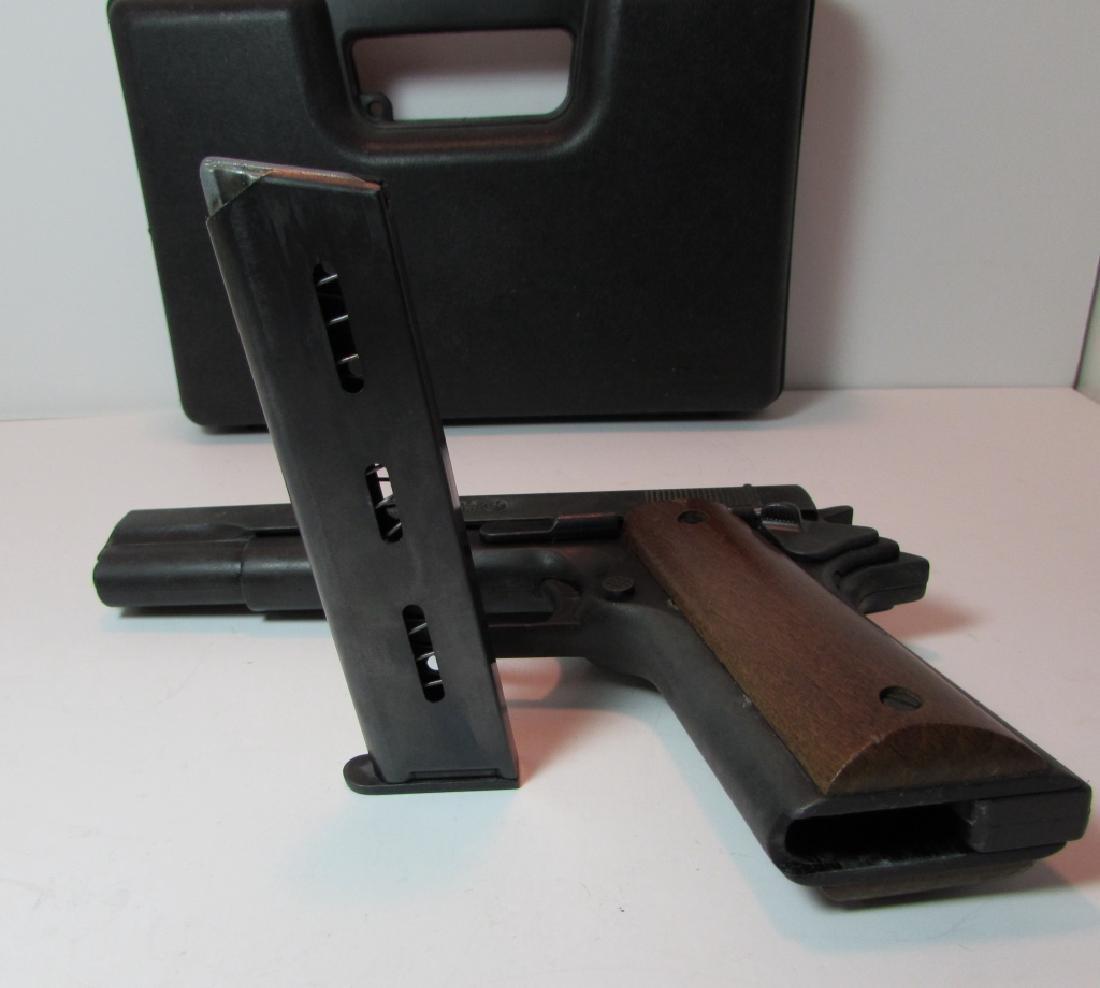 BRUNI 96 BLANK GUN 8mm KNALL 1911 STYLE AMMO CASE - 5