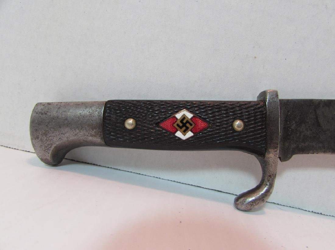 NAZI YOUTH DAGGER ROBI KLAAS SOLINGEN WWII CRANES - 2