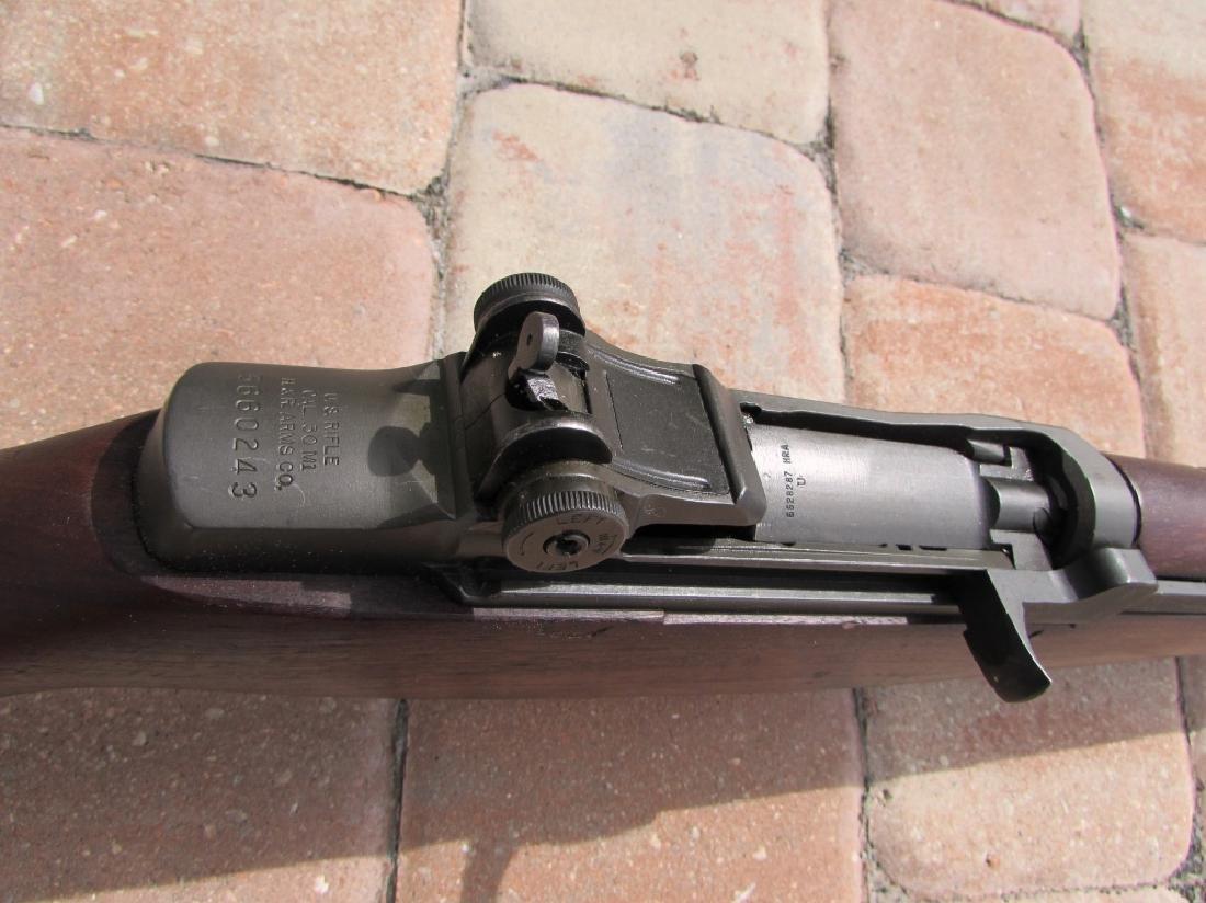 US WWII M1 GARAND 30 CAL RIFLE H&R AMMO CLIPS BELT - 5