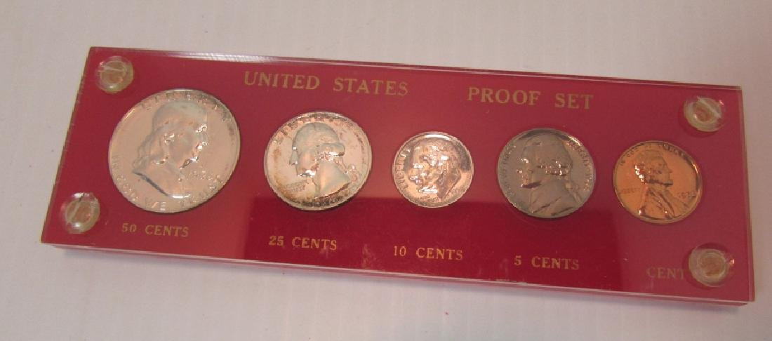 1958 SILVER US PROOF COIN SET