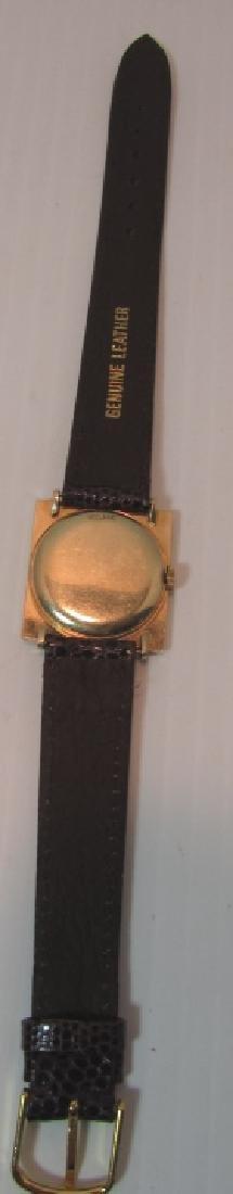 14K GOLD LONGINES WRISTWATCH 17J WATCH - 4