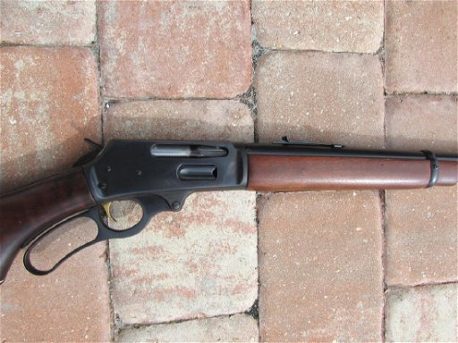 MARLIN 336 RC CAL 35 REM 1st MOD LEVER RIFLE GOLD