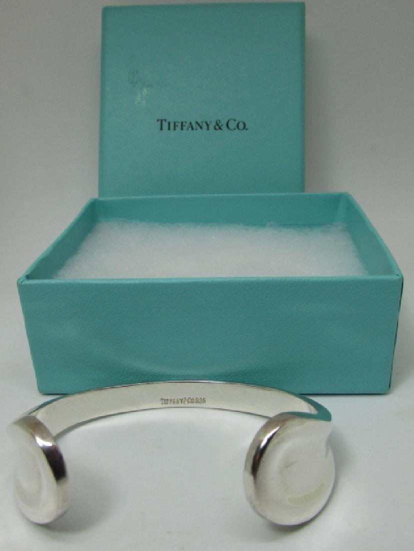 TIFFANY & CO CUFF BRACELET STERLING SILVER PERETTI