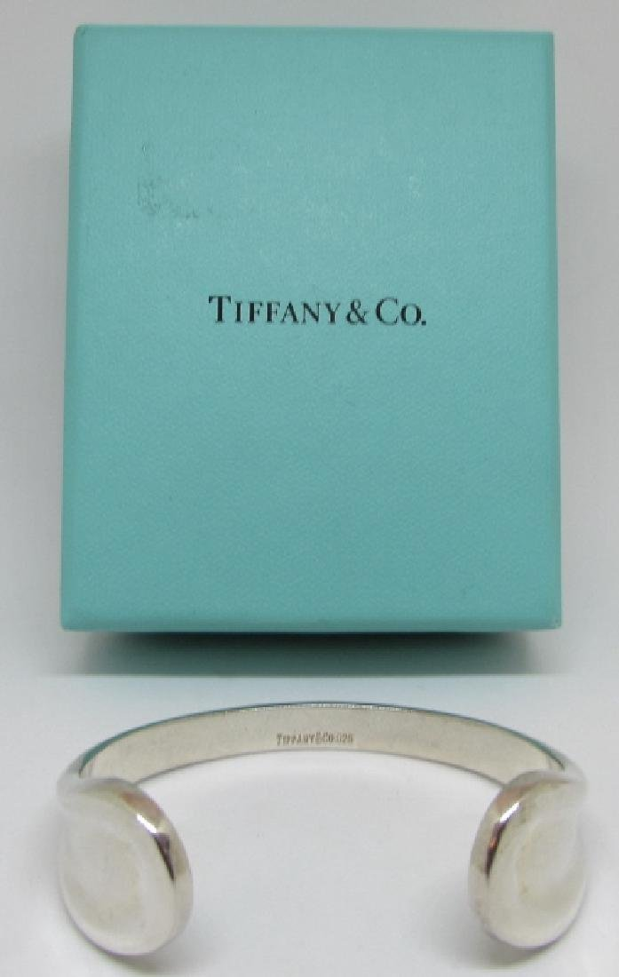 TIFFANY & CO CUFF BRACELET STERLING SILVER PERETTI - 5